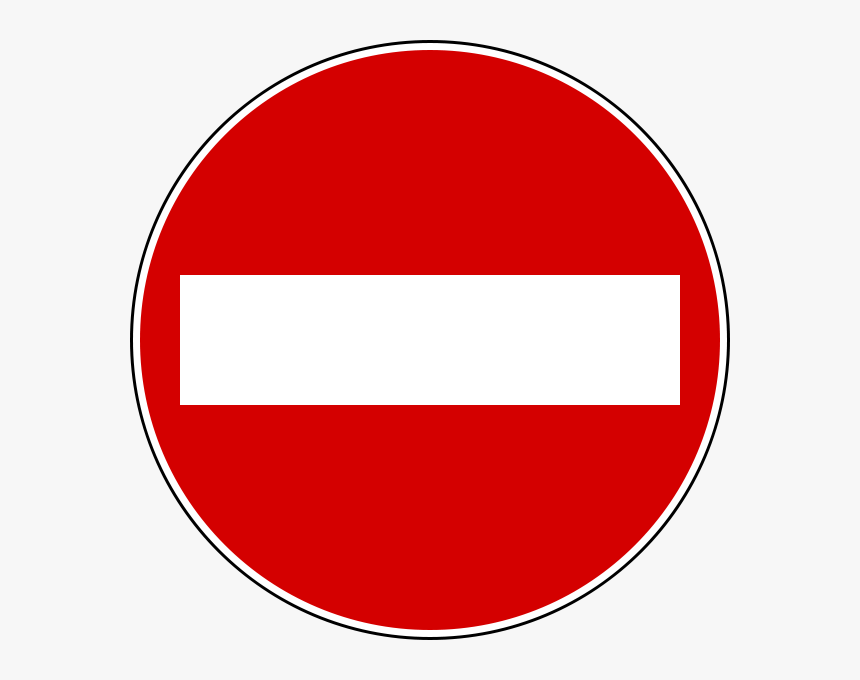 No Entry Sign, HD Png Download, Free Download