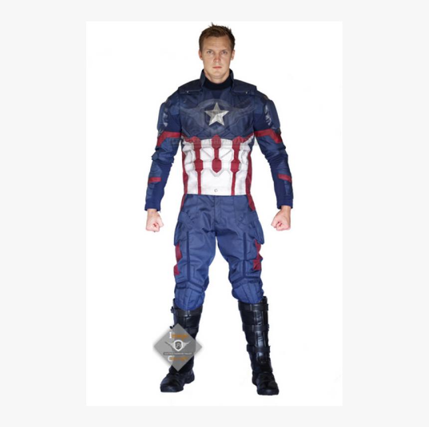 Captain America Civil War Cordura Full Costume, HD Png Download, Free Download