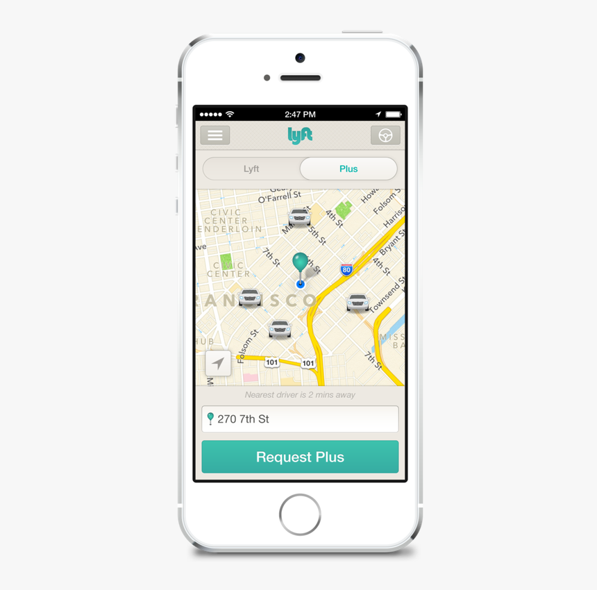 Lyft Offers A New Premium Service Through Its Existing, HD Png Download, Free Download