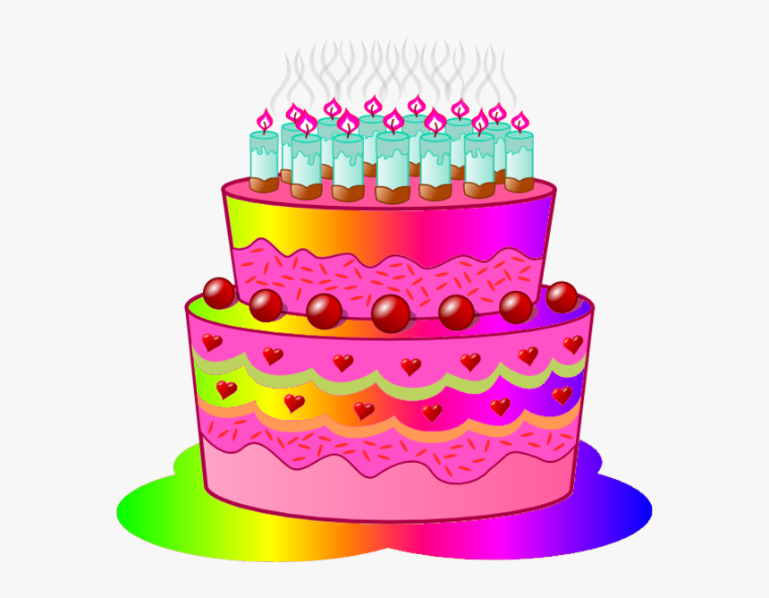 Transparent Animated Birthday Cake Clipart Hd Png Download Kindpng