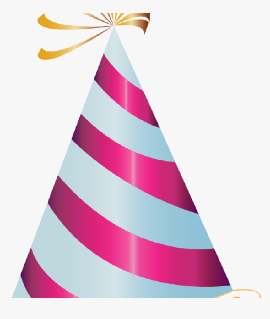 Transparent Party Hat Birthday Png Images All Clipart - Transparent Background Birthday Hat, Png Download, Free Download