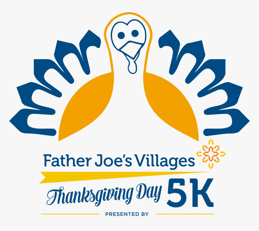 Transparent Thanksgiving Day Png - Father Joe's Thanksgiving Day 5k, Png Download, Free Download