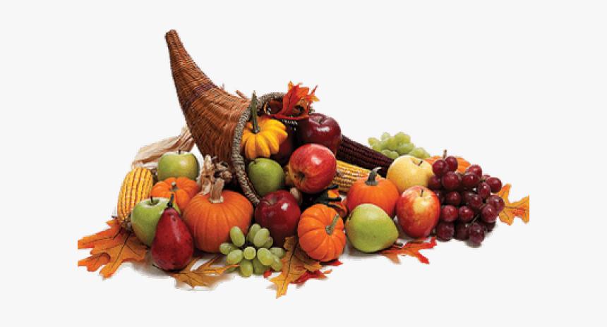 Thanksgiving Day Cornucopia Clip Art Stock Photography - Thanksgiving Cornucopia, HD Png Download, Free Download