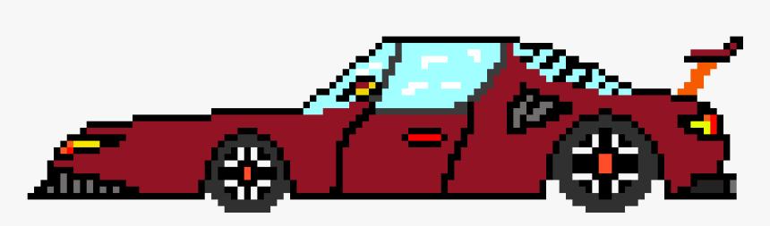 Clip Art Sports Maker - Car Pixel Art, HD Png Download, Free Download
