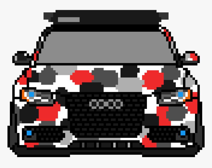Clip Art Pixel Car Art - Pixel Art Audi, HD Png Download, Free Download