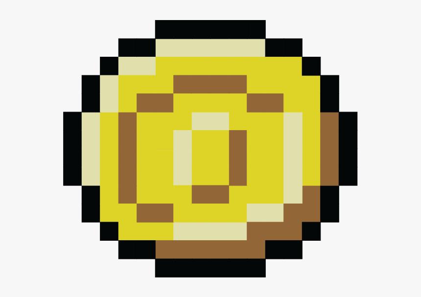 Download Pixel Coin Png Png Images - Pixel Art Minecraft Emoji, Transparent Png, Free Download