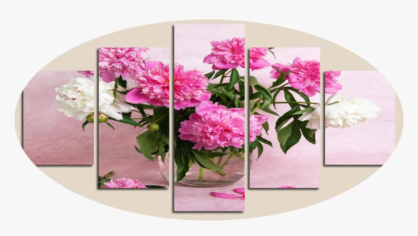 """carnations In A Vase"" - Adornos De Cosina, HD Png Download, Free Download"