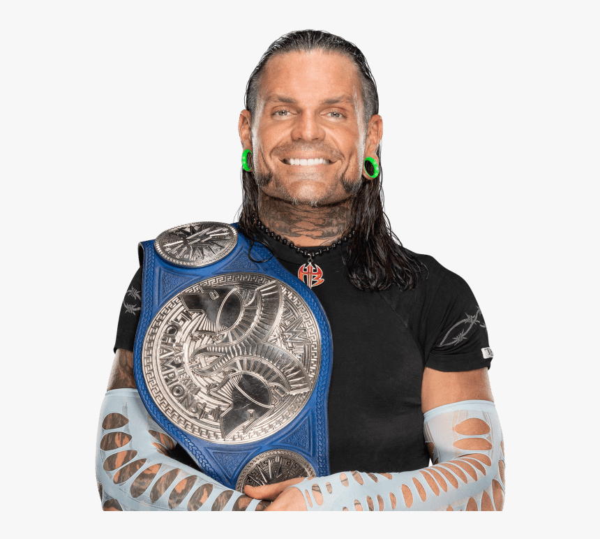 Wwe Jeff Hardy Smackdown Tag Team Champions, HD Png Download, Free Download