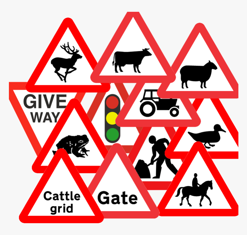 Reflective Road Signs - Traffic Sign, HD Png Download, Free Download