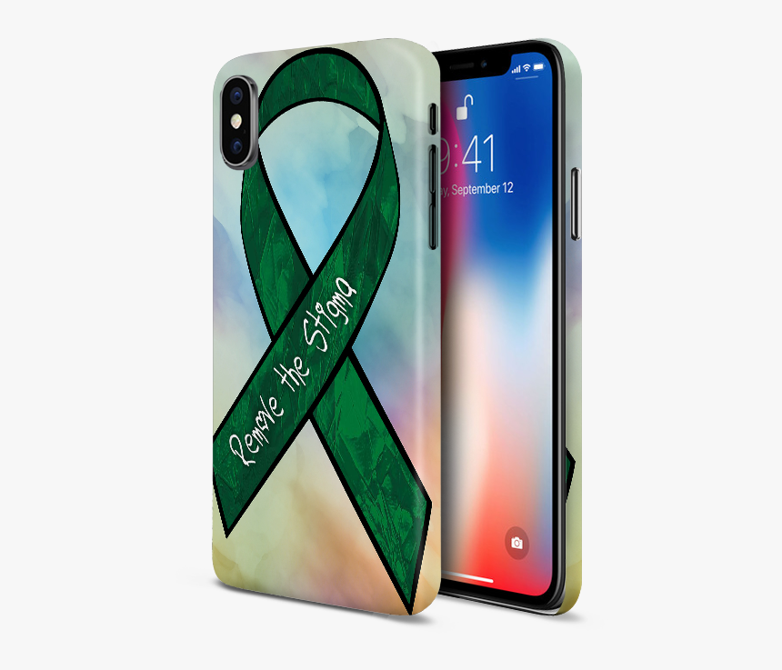 Mental Health Awareness Cell Phone Case - Iphone 11 Pro Rose Gold Case, HD Png Download, Free Download