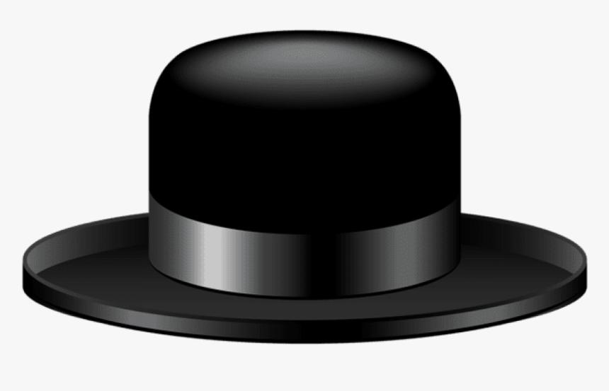 Transparent Fedora Clipart Black Hat Transparent Background Hd