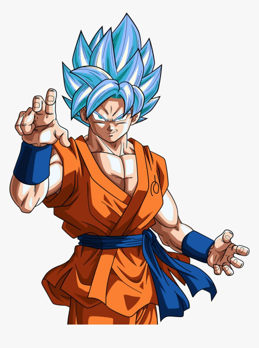 Goku Clipart Ssblue - Dragon Ball Super Goku Ssj, HD Png Download, Free Download