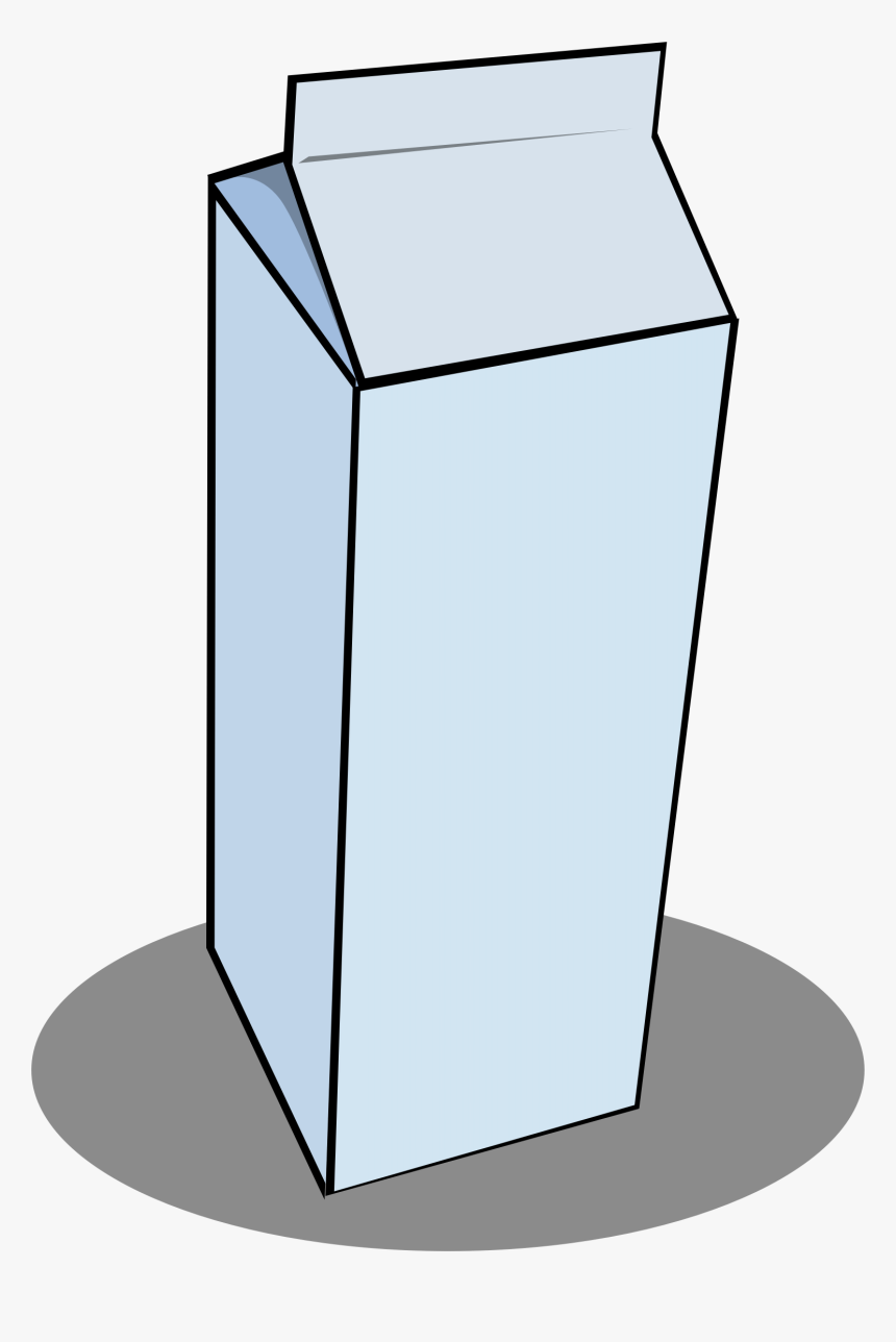 Milk Carton Microsoft Clipart - Milk Carton Clip Art, HD Png Download, Free Download