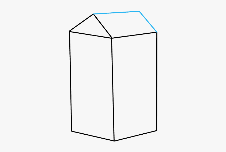 How To Draw Milk Carton - Cylinder, HD Png Download, Free Download