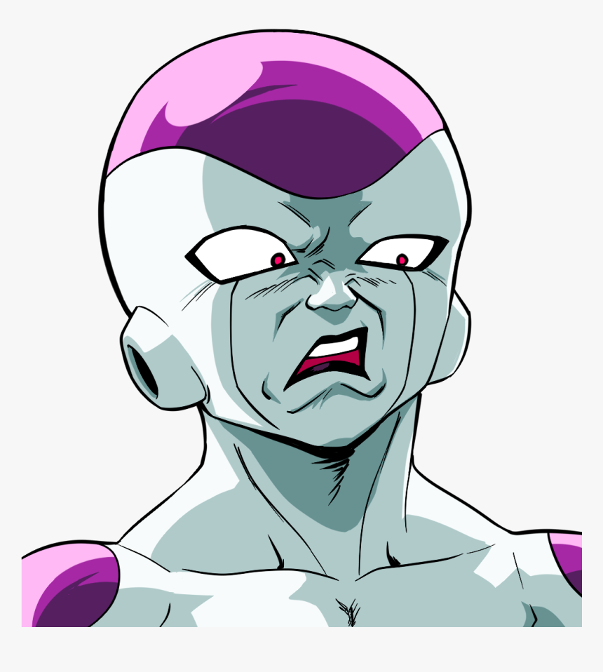 Disgusted Frieza, HD Png Download - kindpng