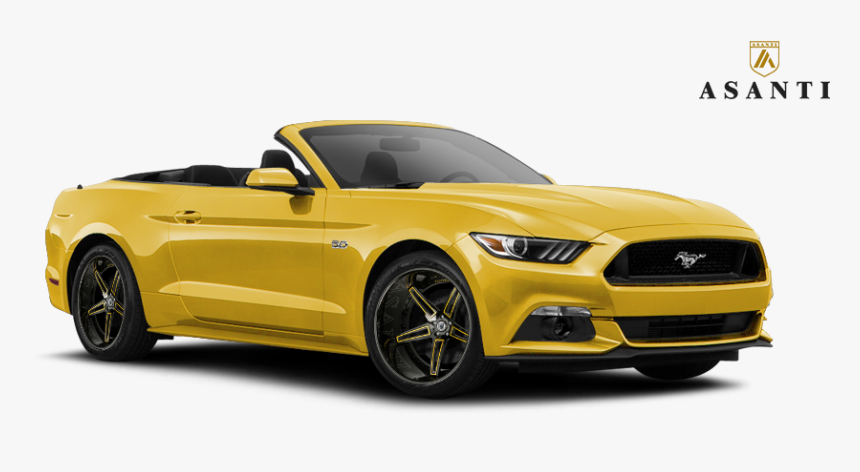 2016 Ford Mustang Gt On - Convertible, HD Png Download, Free Download