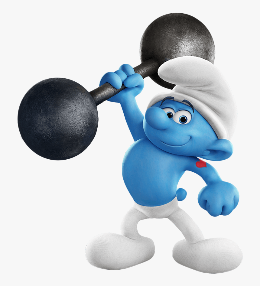 Hefty Smurf The Lost Village, HD Png Download, Free Download