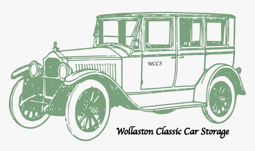 Wccs Logo On Door - Old Car Clipart Png, Transparent Png, Free Download