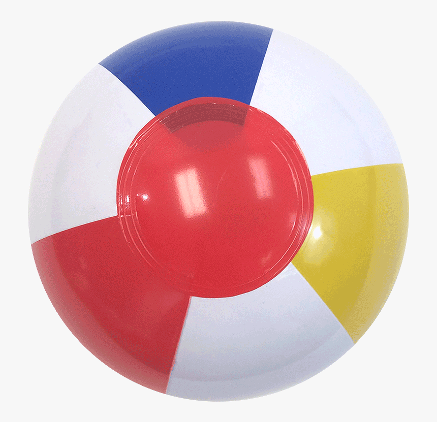 Ball Beach 6 Traditional Red Dot, HD Png Download, Free Download