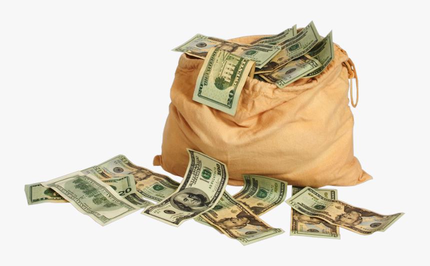 Transparent Money Bag Png, Png Download, Free Download