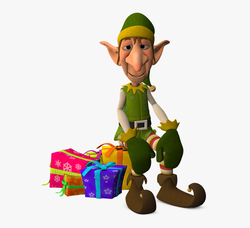 Anime Elf Png Image - Funny Christmas Elf, Transparent Png, Free Download