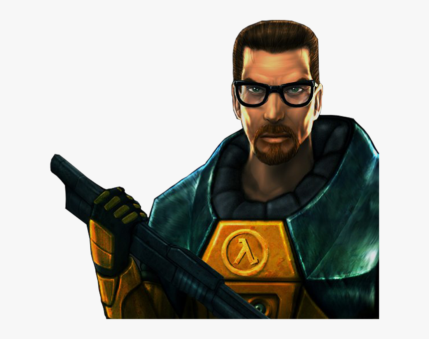 Half Life 1 Gordon Freeman Png Transparent Png Kindpng