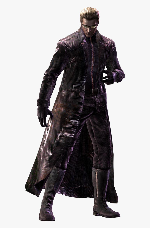 Wesker Albert Wesker Resident Evil 5 Hd Png Download Kindpng