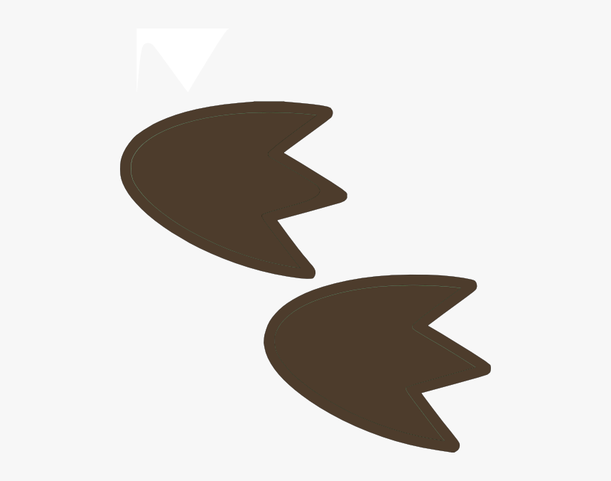 Drawing Of Dinosaur Footprint - Clipart Dinosaur Footprints, HD Png Download, Free Download