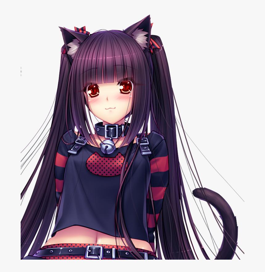 Anime Demon Neko Roblox Anime Demon Neko Girl Vampire Hd Png