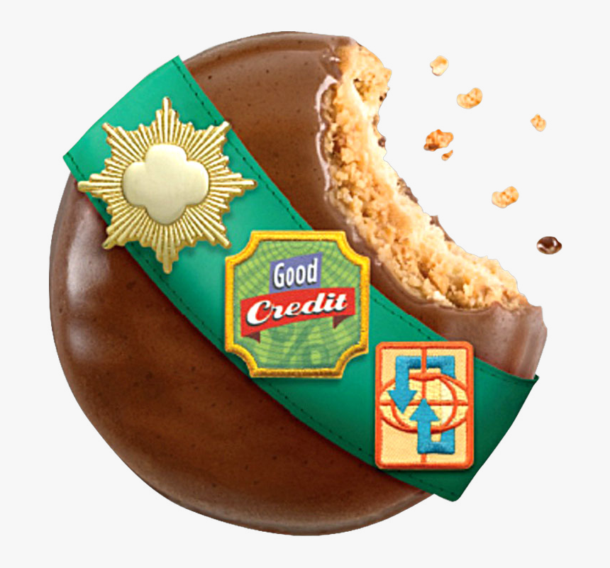 Girl Scout Cookies Png - Girl Scout Cookies Sash, Transparent Png, Free Download