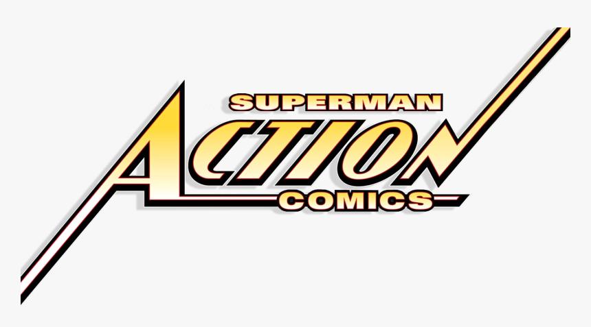Dc Database - Superman Action Comics Logo, HD Png Download, Free Download