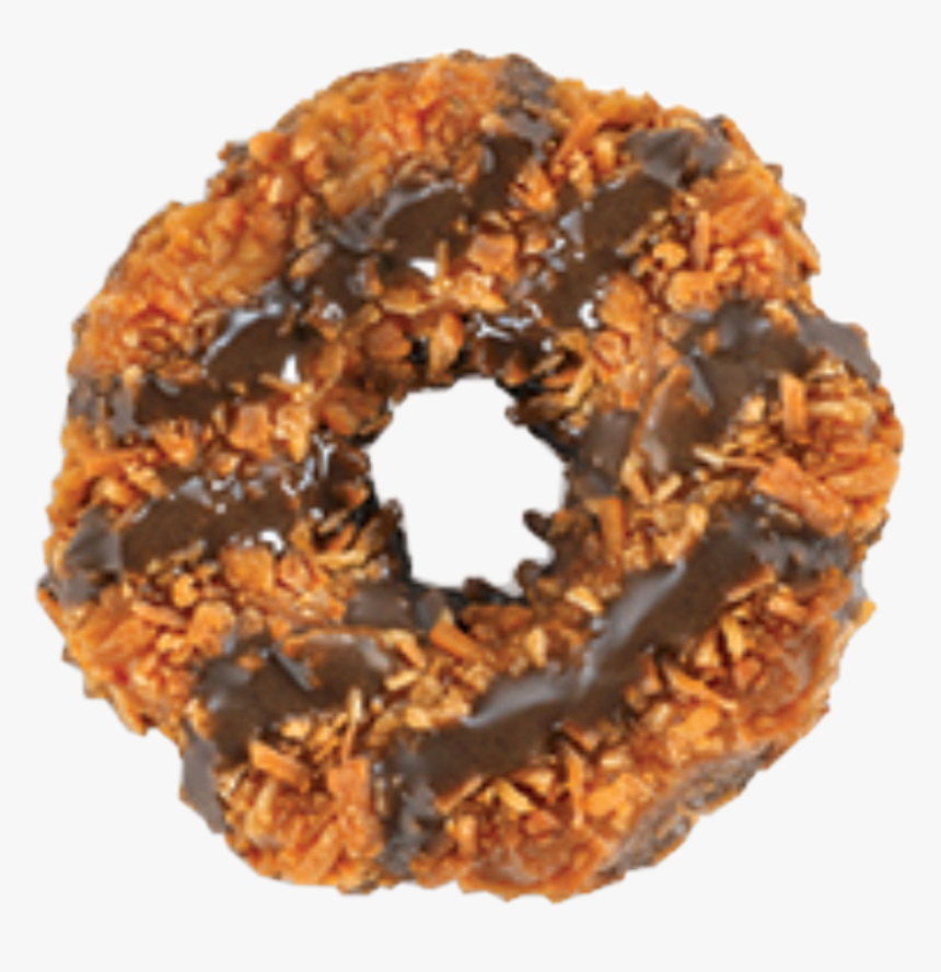 #girl #scout #cookies #cookie #chocolate #coconut #samoa - National Girl Scout Day Samoas, HD Png Download, Free Download