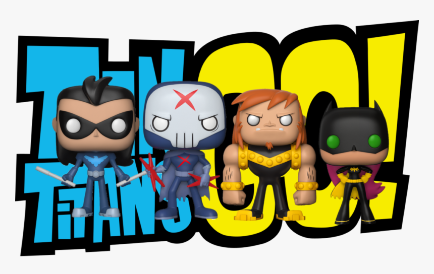 Pop Television - Teen Titans Go Logo, HD Png Download, Free Download