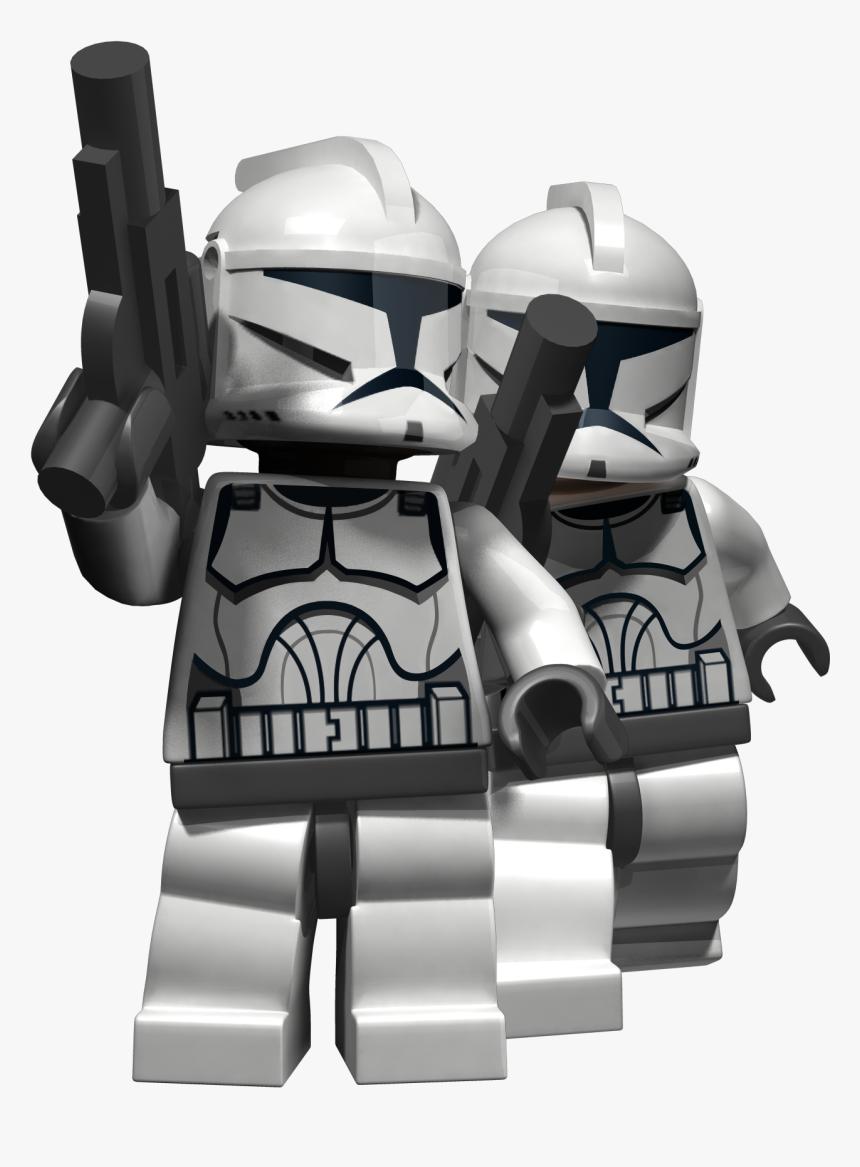 Star Wars Png Image - Lego Star Wars Game Clone Trooper, Transparent Png, Free Download