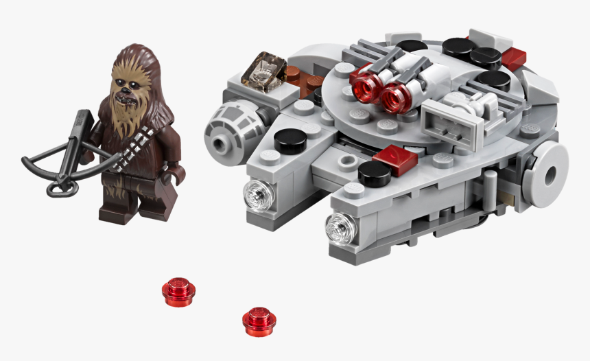 Mini Vaisseau Star Wars Lego , Png Download - Lego Star Wars Chewbacca Sets, Transparent Png, Free Download