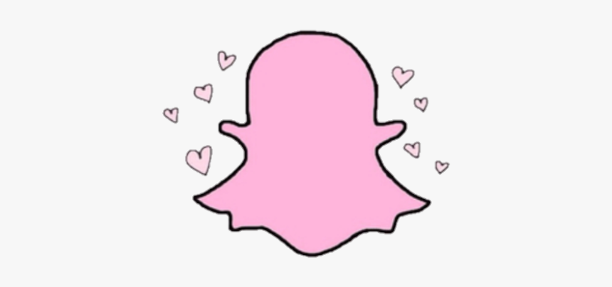 Cute Transparent Snapchat Logo