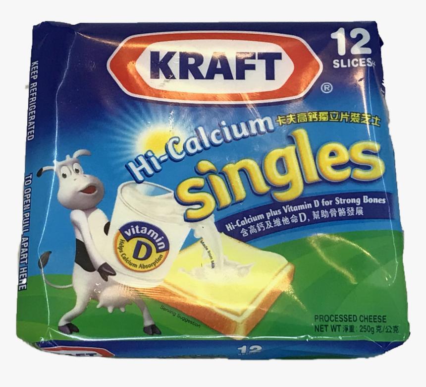 "Kraft Singles Cheese 250g ""  Title=""kraft Singles Cheese - Kraft Single Cheese 60% Less Fat, HD Png Download, Free Download"