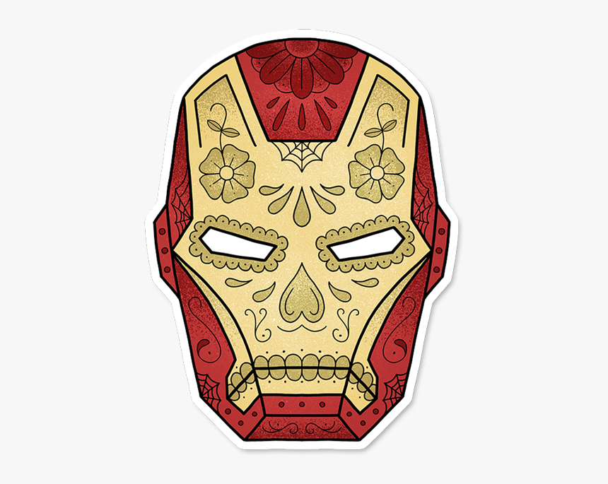 Iron Man Sugar Skull, HD Png Download, Free Download