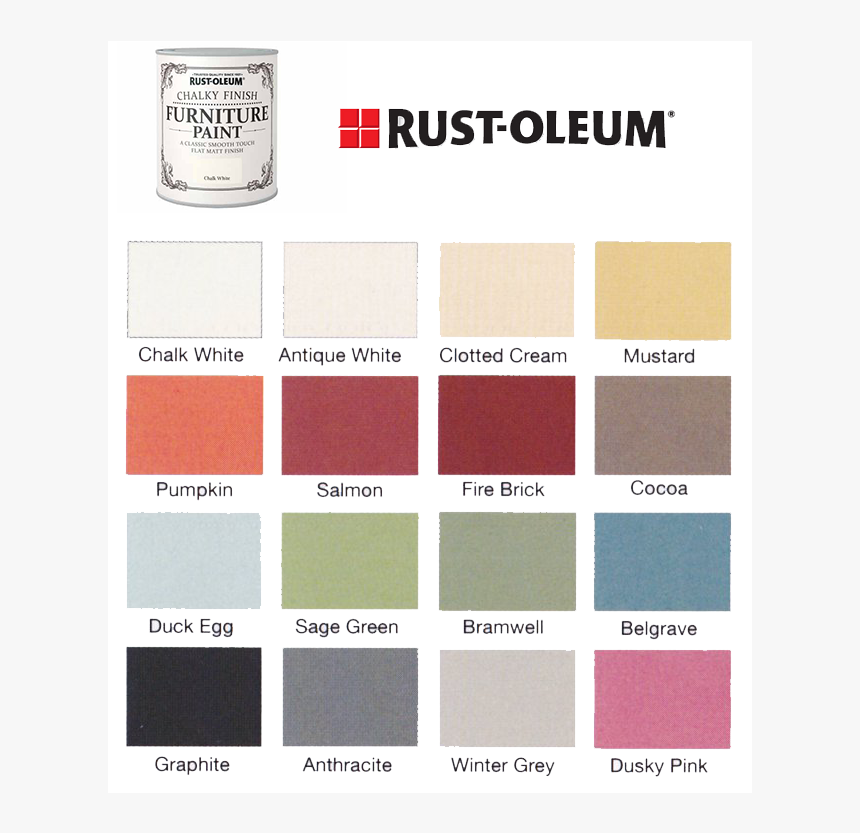 Rustoleum Chalk Paint Colour Chart Hd