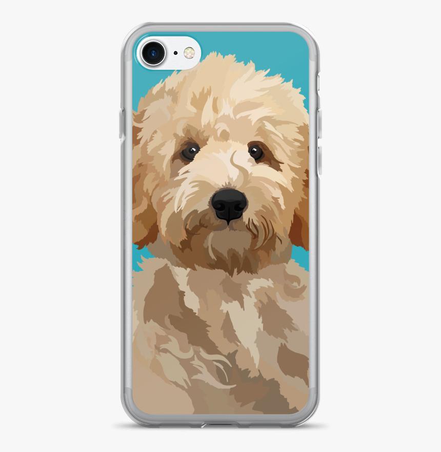 Magnolia The Goldendoodle - Goldendoodle Phone Case, HD Png Download, Free Download