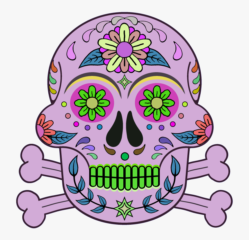 Day Of The Dead 800 X 800 Png Transparent - Day Of The Dead Textures, Png Download, Free Download
