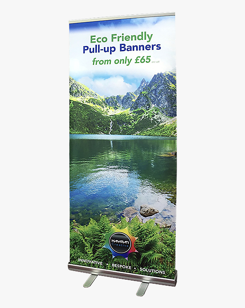 Recyclable Pull-up Banner Stand At Hayman Creative - Banner, HD Png Download, Free Download