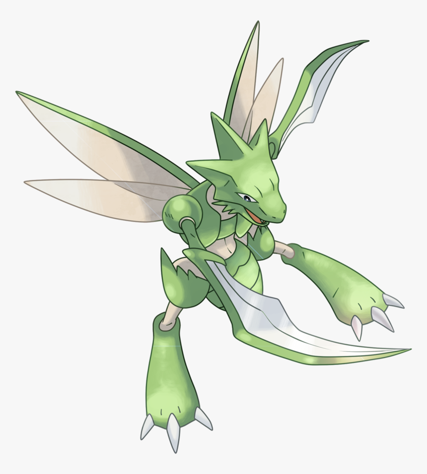 Pokemon Scyther, HD Png Download, Free Download