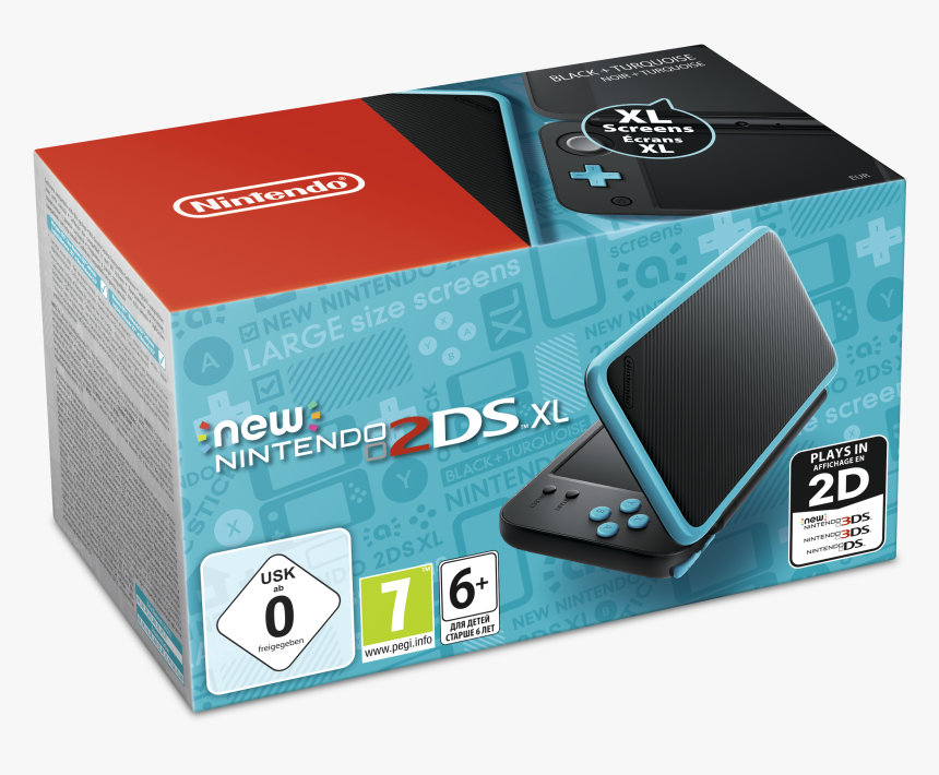 New Nintendo 2ds Xl Game, HD Png Download, Free Download
