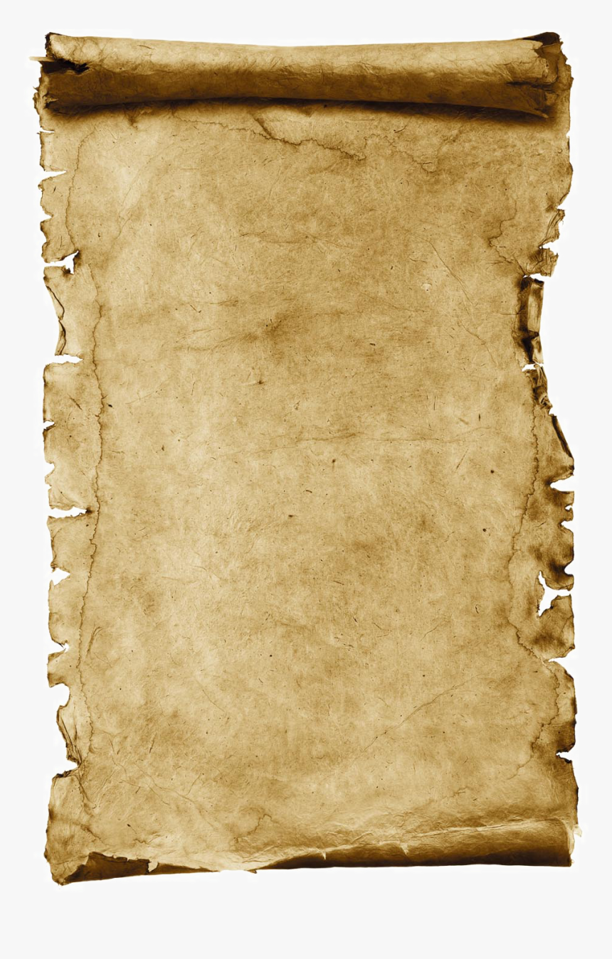 Transparent Parchment Scroll Clipart - Scroll Old Paper, HD Png Download, Free Download