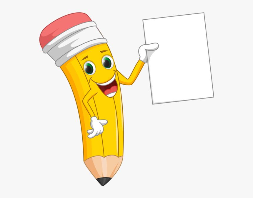 Crayons Ecole Scrap Couleurs Klipart Pinterest Make - Cute Cartoon Pencil, HD Png Download, Free Download