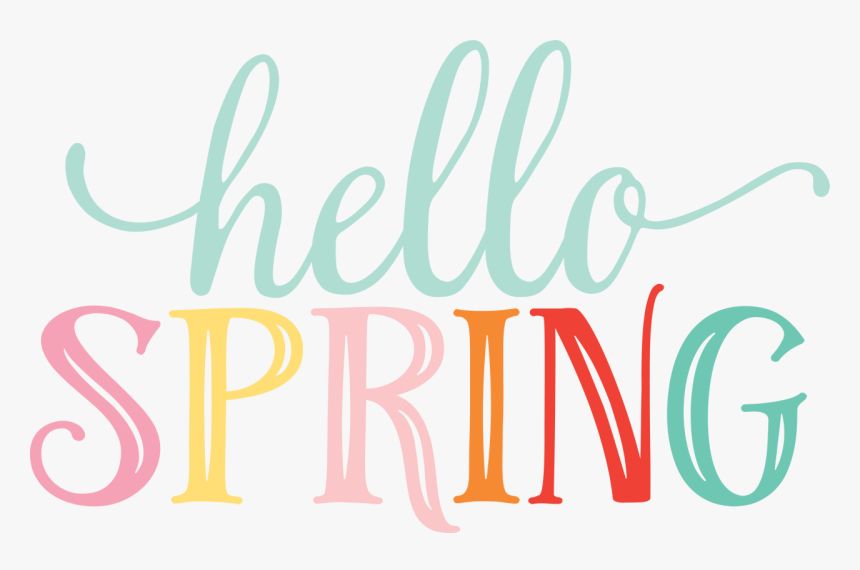 Hello Spring - Calligraphy, HD Png Download, Free Download