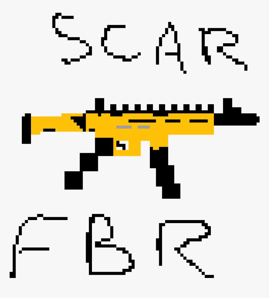 Fortnite Scar , Png Download - Illustration, Transparent Png, Free Download