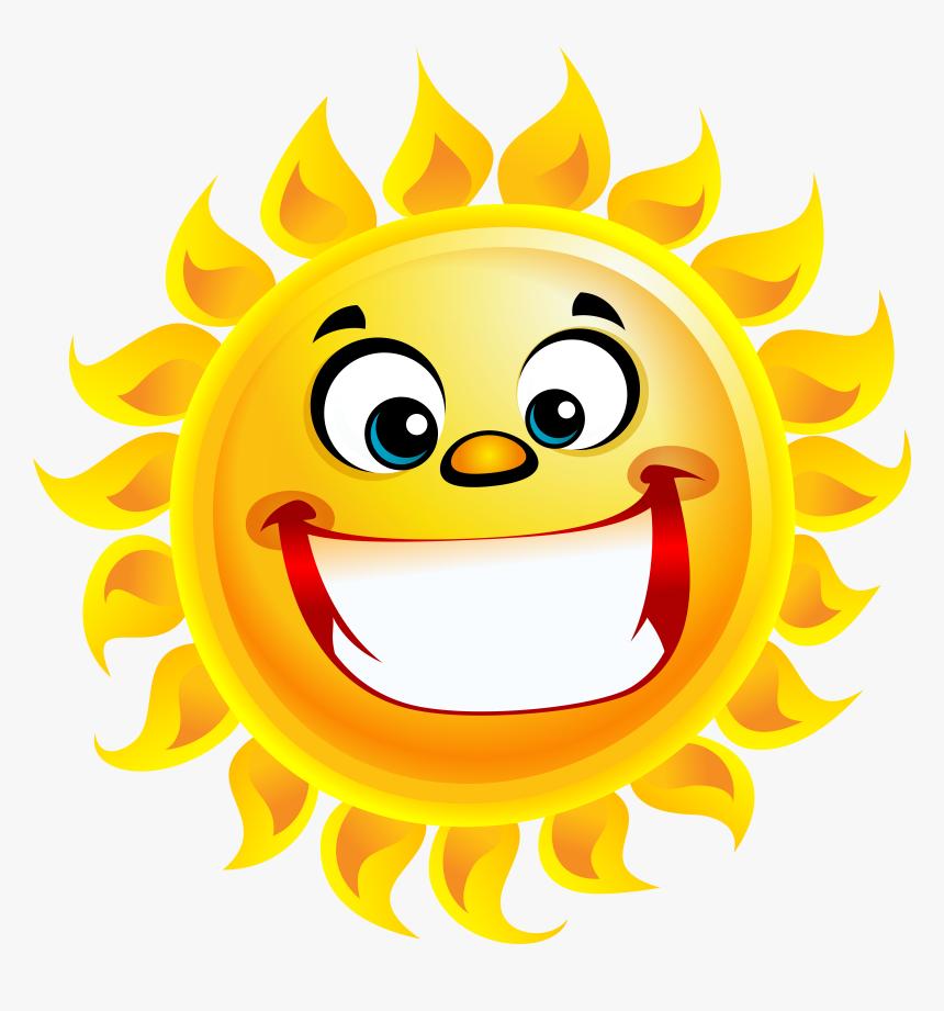 Smiley Sun Png, Transparent Png - kindpng