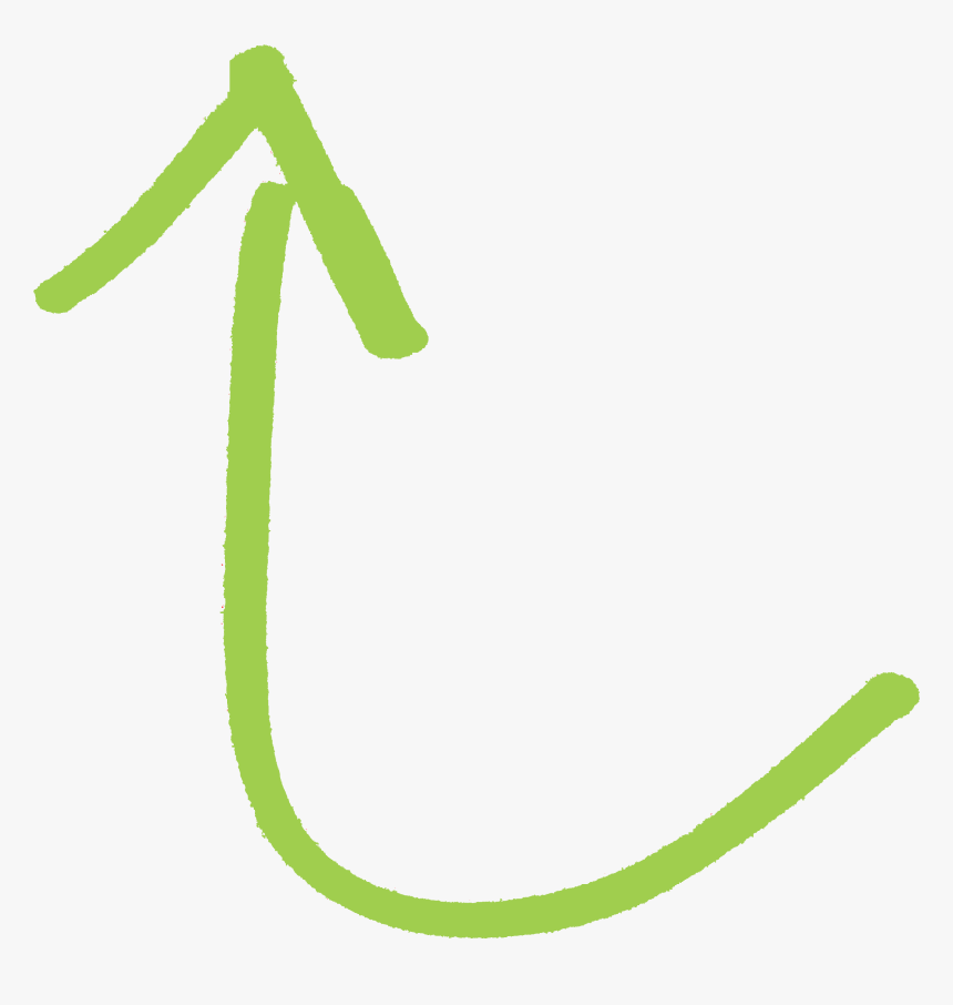 Transparent Curve Arrow Png - Curved Green Arrow Clipart, Png Download, Free Download
